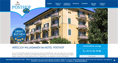 Preview of hotelposthof.at